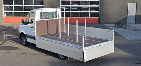 Configure your own platform truck body