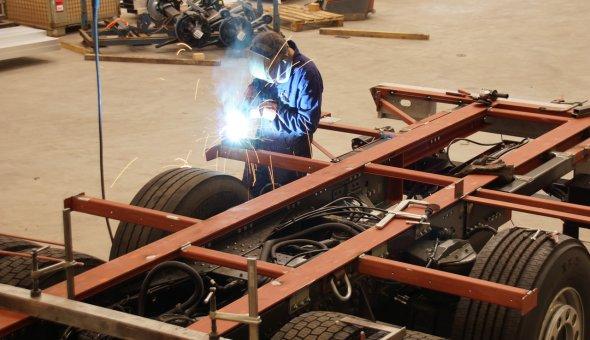 Custom built work welding