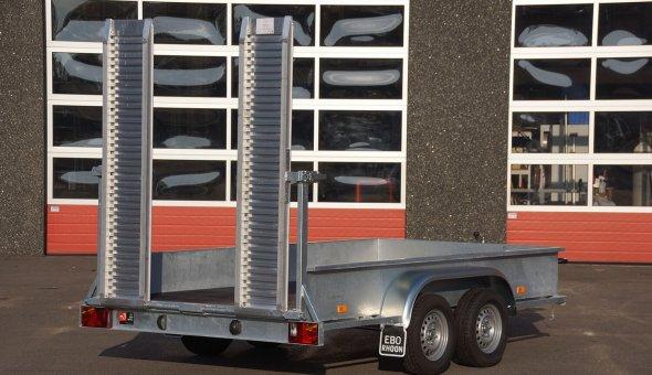 Custom made open trailer