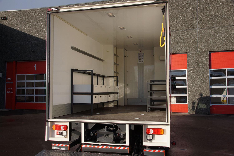 Custom-made dry freight bodies | EBO van Weel