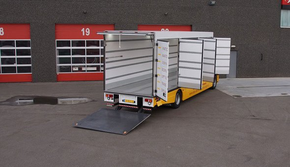 Featured image -Custom built truck body moving truck built on Renault truck