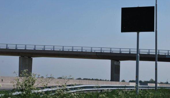 Fixed VMS sign for Provincie Gelderland and Provincie Overijssel
