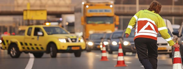 Increase the safety of approaching motorists and road supervisors during incident management