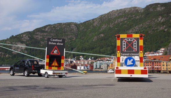 Norwegian dealer invests in 100K TMA truck mounted attenuator