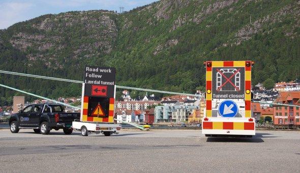 Norwegian dealer invests in 100K TMA truck mounted attenuator