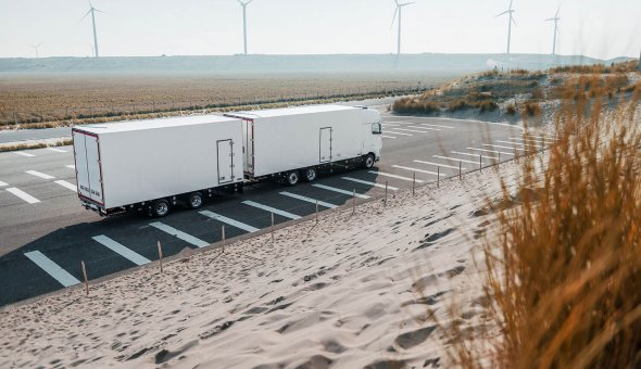 efrigerated isothermal truck body for transportation of flowers