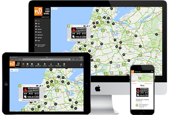 Traffic Fleet enables your traffic systems various Smart Mobility Applications