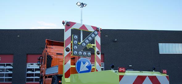 Truck mounted attenuator TMA-02-A