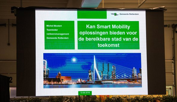 SMART MOBILITY DAY 2018 – WARNING SIGNALS VIA WIFI-P & 5G