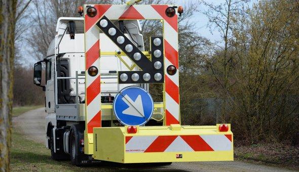 1x TMA Truck mounted attenuator for Combination Wegwijsrent-BUKO