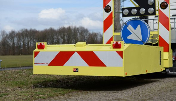 1x TMA Truck mounted attenuator for Combination Wegwijsrent-BUKO