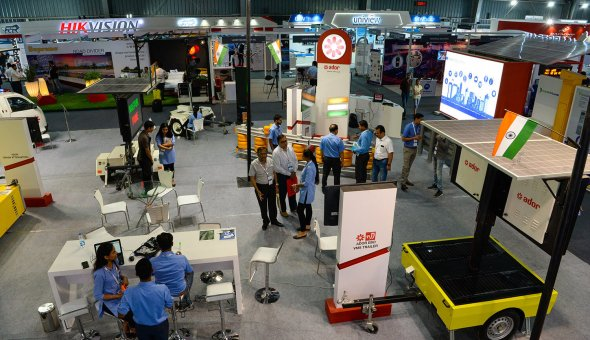 Traffic Infratech Expo Mumbai 2018 Ador Powertron and EBO van Weel