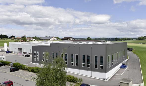 Building of Zbinden Posieux SA